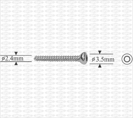 Vis corticale 2,4mm