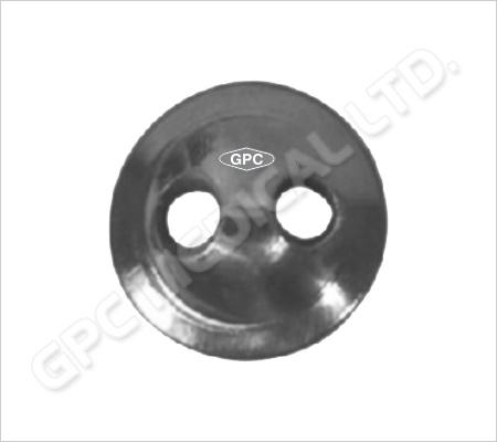 Disque de suture à 2 trous, en formes standard et conique