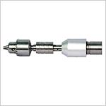 Partie amovible pour moteur d'alésage pour acétabulum à l'interface type B