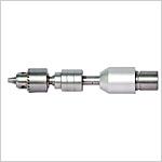 Partie amovible pour moteur d'alésage pour acétabulum à l'interface type D