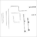 Grande boîte d'instruments pour correction du pied varus équin (C.T.E.V)