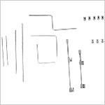 Boîte moyenne d'instruments pour correction du pied varus équin (C.T.E.V)