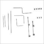 Petite boîte d'instruments pour correction du pied varus équin (C.T.E.V)