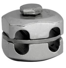 Connecteur double barre-barre