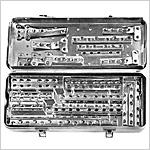 Plaques de compression dynamique (DCP) large et étroite pour vis dia. 4,5mm et 6,5mm