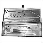 Boîte d'instruments pour clous de reconstruction