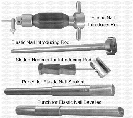 Boîte d'instruments pour clou élastique