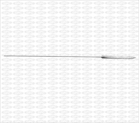 Pointe de baïonnette du fil d'Ilizarov 1,5mm