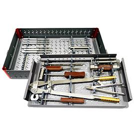 Jeu d'instruments pour clou élastique intra<em>HEAL</em> en titane (TENS)