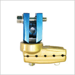 Multiaxis L Clamp for 8 mm Rod Fracture Fixation