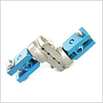 Multiaxis Z Clamp for 8mm Double Rod Fixation