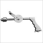 Perceuse à main aux engrenages ouverts avec mandrin et clé en inox
