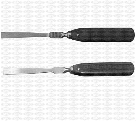 Rugine à manche en fibre - droite et courbe (Farabeuf)