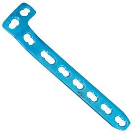 Plaque fix<em>LOCK</em> de compression en L, 4,5 mm