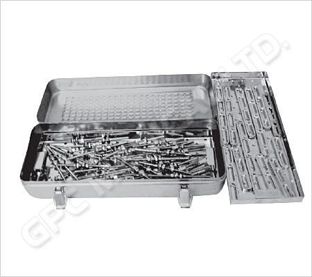 Système de plaques de Steffee - boîte d'implants