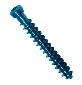 Vis fix<em>LOCK</em> d'os spongieux autotaraudeuse, 5,0 mm - entièrement filetée