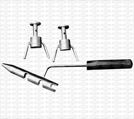 Cercleur inox à 2 tacquets