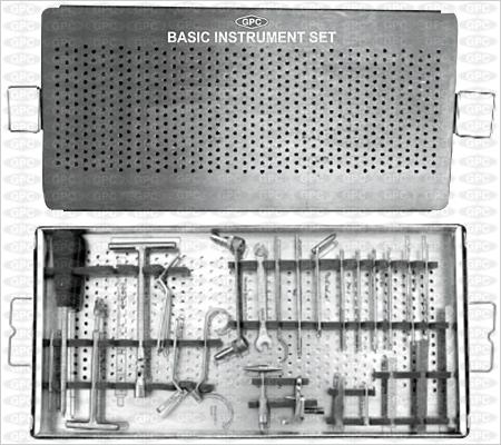 Boîte d'instruments de base