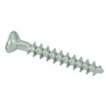 Vis d'os spongieux 3,5mm, partiellement filetée, à tête creuse hexagonale.