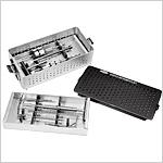 Boîte d'instruments pour plaques DHS/DCS, illustrée