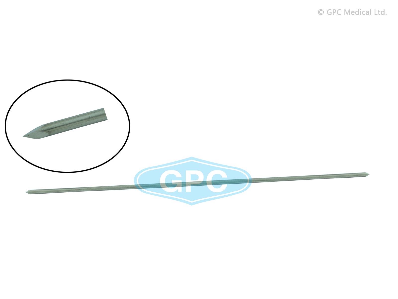 Fil de Krischner - Trocart lancéolé / Pointe de baïonette à extrémité simple/double